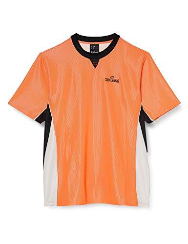 Spalding Referee Pro Camiseta de Árbitro, Hombre, Naranja/Negro, XXXL