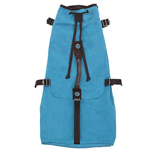 XuBa 21-36 Zoll Universal Ukulele Trage-tasche Tasche Ukulele Aufbewahrungstasche Canvas Ukulele Rucksack Retro blau
