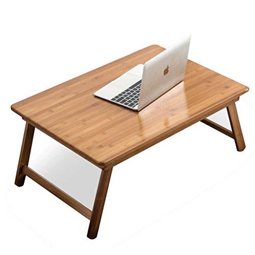 Yxsd Table pour Ordinateur Portable pour lit et canapé, Bamboo Pliant Extra Large (Size : 60 * 60cm)