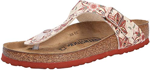 BIRKENSTOCK Gizeh BF DD Boho Flowers Earth Red 38