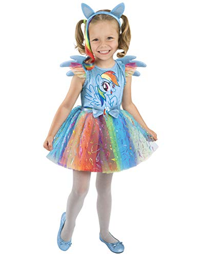 Spirit Halloween Toddler My Little Pony Rainbow Dash Costume