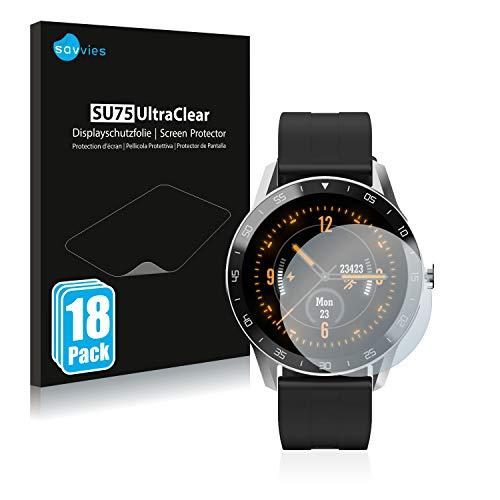 savvies 18-Pezzi Pellicola Protettiva Compatibile con Blackview X1 Protezione Schermo Trasparente