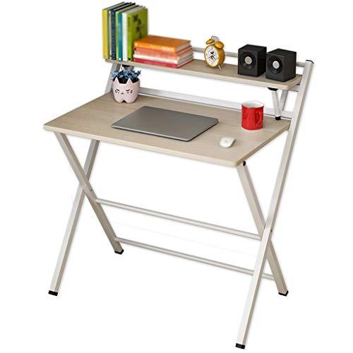 NYKK Tavolino Scaffale Moderno Semplice Creativo del Tavolo da Pranzo dello scrittorio del Computer dello scrittorio del Computer del tavolino da Salotto di Modo (Size : M)