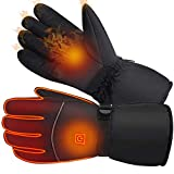 MZTDYTL Winter Heated Gloves with 3 Levels Temperature Control Winter Warm Gloves