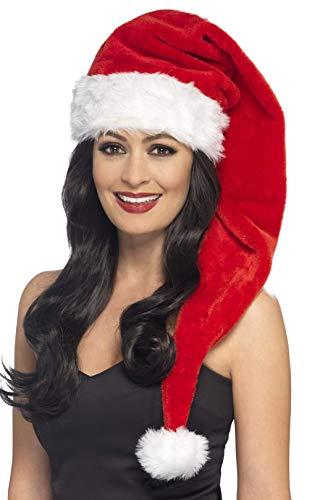 Smiffys Damen Weihnachtsmütze, Lang, One Size, 21383