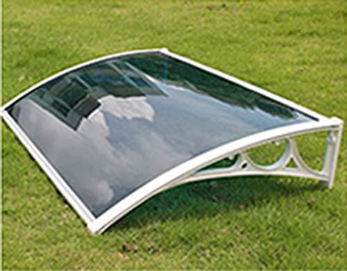 YYLL Ranking integrated 1st place Door Canopy Awning Porch online shop Blue Pane Shelter Roof
