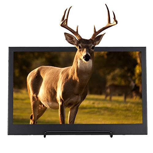 11,6-Zoll-Monitor, 1920X1080 Ultradünner Metallgehäuse TFTLED Tragbarer Monitor mit Weitwinkel 176 Grad und Mini-HDMI, 3,5-mm-Ausgang, HD-Monitor für Himbeer-Pi-Serie/Spiele(EU-Stecker)