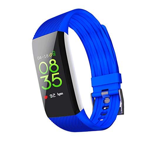 Waterdicht intelligent horloge, IP68 Bluetooth Smart Watch waterdichte fitnesstracker, jongens en meisjes kinderen fitness tracker met simkaart verlies voorkomen SOS-armband polshorloge vakantie geboorte, blauw