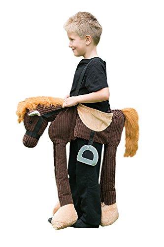amscan POR Pony-Kostüm für Kinder ab 3 Jahren, Braun, 1 Stück