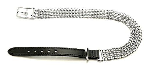 Ancol Traditionelle dreireihige, schwere Halskette