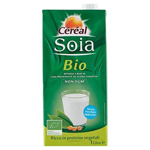 Céréal Latte di Soia Biologico, Bevande senza latte, senza lattosio, con Proteine vegetali della...