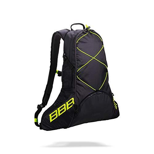 BBB Cycling Fahrradtasche, Fahrrad Trinkrucksack, Maratour Hydration Fahrradrucksack, BSB-101, Schwarz / Neon Yellow