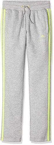 Adidas Essentials Pantalon de Sport à Ourlet Ouvert et 3 Bandes pour Homme XS/S Gris/Jaune