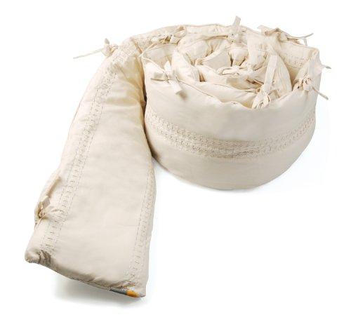 Bloom - Tour de lit intégral en coton bio pour lit Luxo