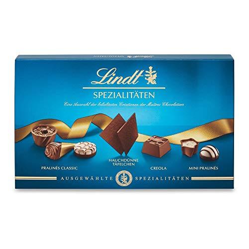 Lindt Lindt Pralinés Spezialitäten, außergewöhnliche Pralinen, 12 unterschiedliche Sorten, 2er pack (2 x 125g)