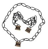 Mtxc Fate/Extra CCC Cosplay Saber Bride Nero Claudius Curb Chain Black