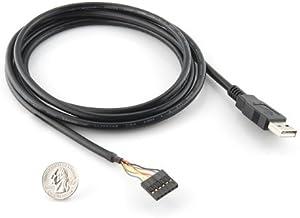 Letotech FTDI USB to TTL 3.3V Serial UART Converter Cable,5V VCC-3.3V I//O