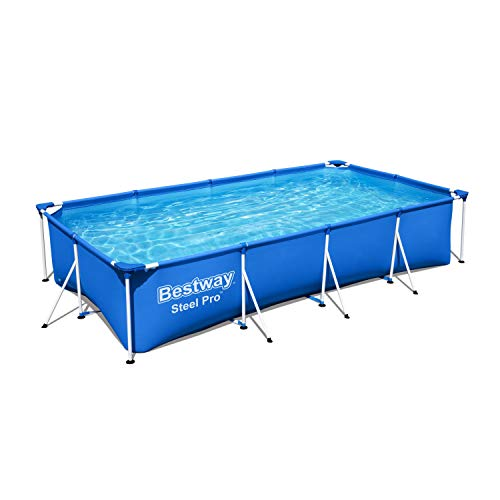 Bestway 56405 - Piscina Desmontable Tubular Infantil Family Splash Frame Pool 400x211x81 cm