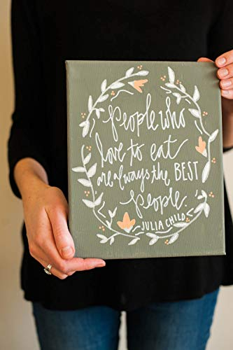 Julia Child Canvas