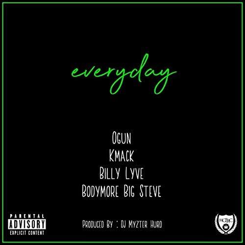 Bodymore Big Steve feat. Ogun, Kmack & Billy Lyve