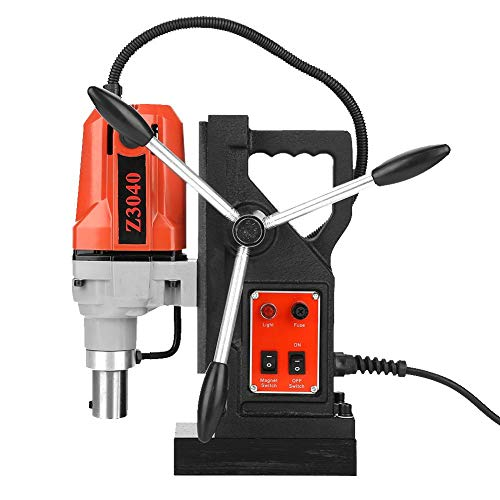 %10 OFF! Magnetic Drill Press, Metal Drill High Power Multi-Function Magnetic Drill Metal Drill Pres...