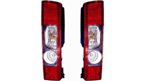 Iparlux 16305431 - Feu arrière gauche, sans douille, blanc/rouge