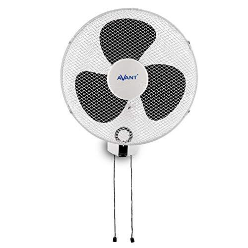 AVANT - Ventilador de Pared Oscilante - Conmovimiento Giratorio - 40 Cm, 45 W, 3 Velocidades, Color...