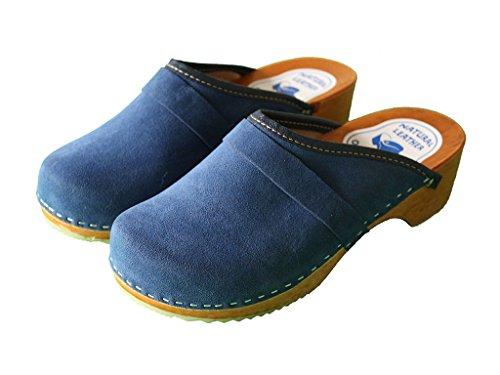 jbb, Zoccoli donna, blu (Navy blue), 38 EU