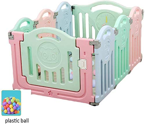 Buy JN Child Safety Fence Baby Playpen Playpens Young Child Playground Free-Standing Indoor Outdoor ...