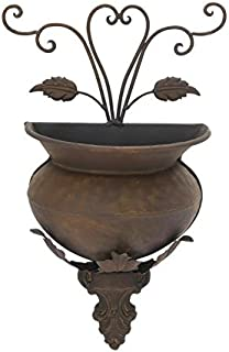Deco 79 Metal Wall Planter Rare to Find Elsewhere Utility Decor