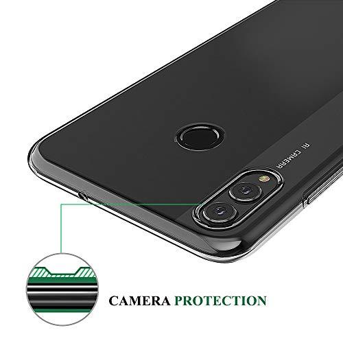 BENNALD Hülle für Honor 8X Hülle, Clear Soft Flex Silikon Durchsichtige Schutzhülle Case Cover-Slim TPU Bumper Tasche Passgenau Handyhülle für Huawei Honor 8X (Transparent, Clear) - 4