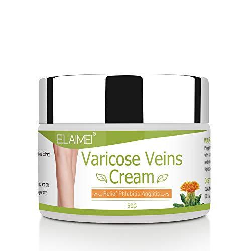 Varicose Veins Cream,Natural Varicose and Spider Veins Treatment, Improves Varicose Veins,Relieves phlebitis & Angiitis Inflammation, Blood Veins Vasculitis, Legs Care (1 Pack)