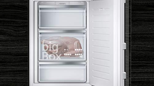 Siemens GI21VAFE0 iQ500 Einbau-Gefrierschrank / A++ / 157 kWh/Jahr / 97 l / lowFrost / Big Box / LED-Innenbeleuchtung
