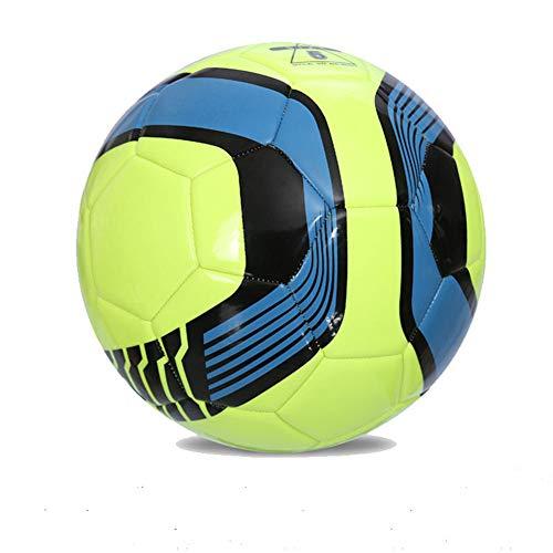 XFF Nr. 5 PU-Maschine Nähfußball-Grund- und weiterführende Schule Trainingswettbewerb Test Fußball Vier oder fünf Kinder cool City Flame,E,cm