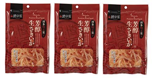 ふくや 鱈卵屋 博多明太子 芳醇生さきいか 30g ×3本
