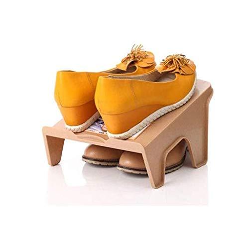 Diaod Inicio Multi-Capa de Zapatero, Zapato Gabinete de Almacenamiento for Ahorrar Espacio Dormitorio Zapatos Estante Doble de Almacenamiento