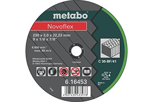 Preisvergleich Produktbild Metabo 616453000 Novoflex 230X3, 0X22, 2 Stein