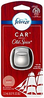 Febreze Car Old Spice Air Freshener Vent Clip-1ct