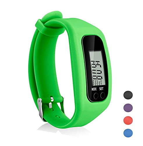 Find Cheap Coch Fitness Tracker Watch, Simply Operation Walking Running Pedometer with Calorie Burni...
