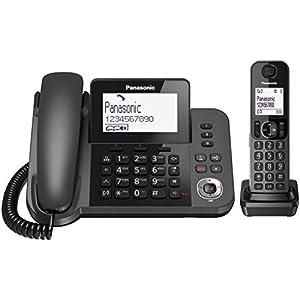 Panasonic KX-TGF320E teléfono - Teléfono inalámbrico: Amazon.es: Electrónica