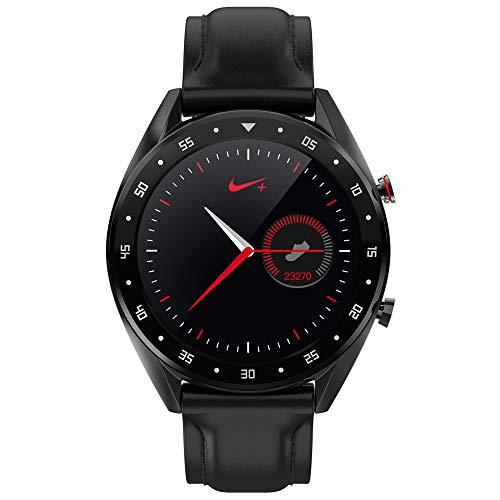 xiemukun - Reloj Inteligente L7 con Correa y Bluetooth para Llamadas IP68, Impermeable, ECG, frecuencia cardíaca, presión Arterial, oxímetro