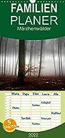Maerchenwaelder - Familienplaner hoch (Wandkalender 2022 , 21 cm x 45 cm, hoch): Waldbilder der Schwaebischen Alb (Monatskalender, 14 Seiten )