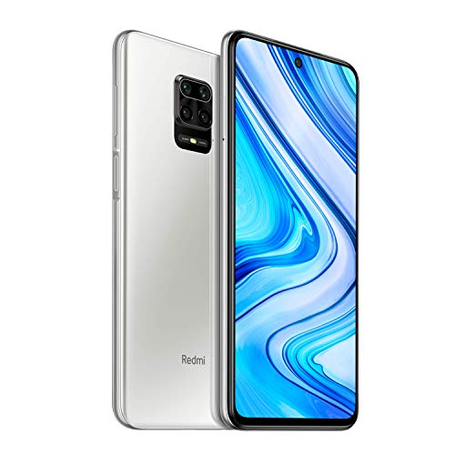 "Xiaomi Redmi Note 9 Pro - Smartphone de 6.67"" (DotDisplay, 6 GB RAM, 128 GB ROM, 64 MP AI Quad cámara, batería de 502 0mAh) Interstellar Grey [UK Version]"