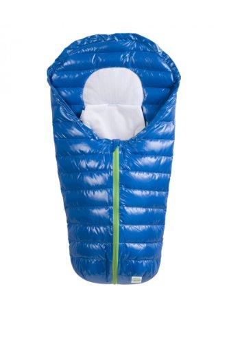 Odenwälder Sommer Fußsack InKid Babyschale, Design:azurblau
