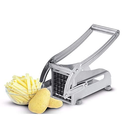 Xfc Edelstahl Graters für Küche, Food Grade Haushalts Gemüse Schneidemaschine Schneide Fries Manuelle Kartoffelmaschine Kitchen Gadget