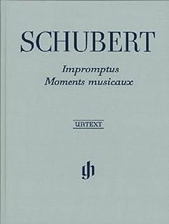 Impromptus et Moments Musicaux (Reliure Lin)
