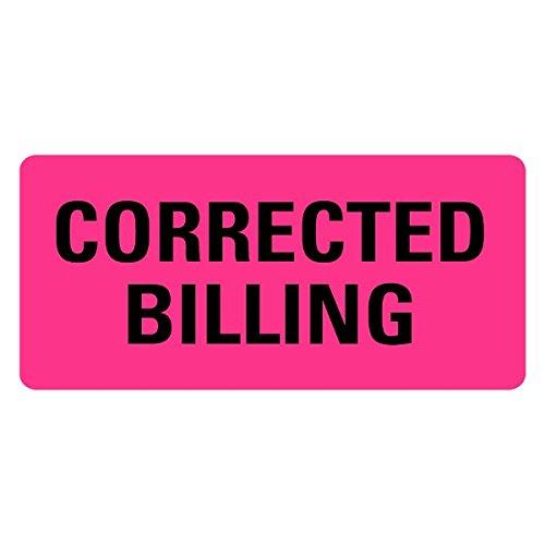Corrected Billing Medical Records Labels LV-MRL5