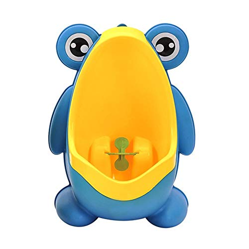 Frog Potty Training Urinal for Toddler Boys Toilet with Funny Aiming Target, Removable Toilet Pee Trainer