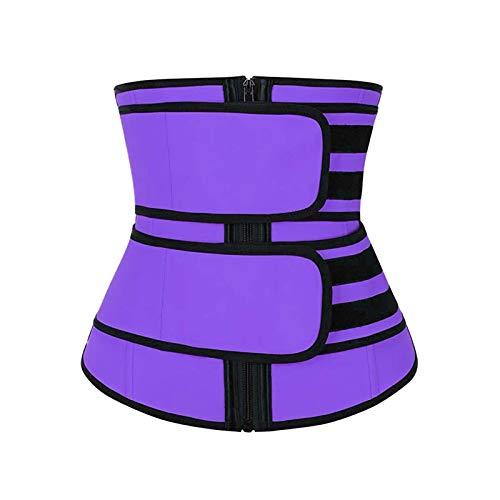 CMXUHUI Tiene un Efecto obvio sobre la Mejora de los Senos Trainer de Cintura Cinturón de Sudor Trainer de Cintura Faja Corsé Mujer Pulta Shapewear Cintura para Mujer Corsé Cintura