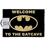 DC Originals - Doormat Welcome To The Batcave, Black